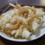 めん専門店 味良 - 玉ねぎの天ぷら