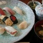 みちすし - 料理写真:日替にぎり 1180円