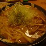 なごみ家 - 完熟味噌らーめんを中太麺で^^☆
