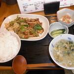 なごみ家 - ランチのホイコーロー定食¥770☆