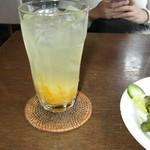 フラカフェ - アイスゆず茶