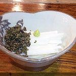 炉ばた焼 みちのく - 山芋の千切り[とんぶり入り](2010/3/1)