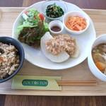 Cafe TOITOITOI - 料理写真:金曜日はご飯のメニュー(日替わり)
