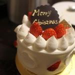 パティシエ ラボ テツヤ - 料理写真:イチゴのクリームケーキ