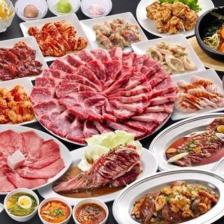赤字覚悟の食べ放題コース3,980円