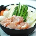 きて兆 - 味噌小鍋(鶏肉)季節限定メニュー、豚肉、牡蠣もございます