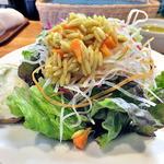 33504630 - ランチの前菜(K.STYLE の定番サラダオードブル)