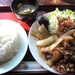 ラビン - 生姜焼定食!(2014,12/13)