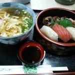 33507477 - 寿司うどん定食
