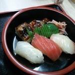 よこた - 寿司 (寿司うどん定食)