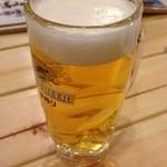 磯家波平 - 生ビール(中)