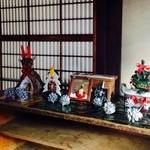 まち蔵 藍 - 靴箱にもクリスマス(*´v`*)