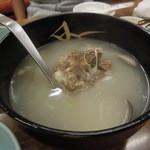 馬山館 - コムタンスープ