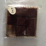 洋菓子の店 グルメ - 1個食べてしまいましたが、生チョコ9個
