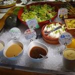 露菴 - サラダコーナー7