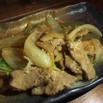 33512501 - 豚生姜焼き(単品)