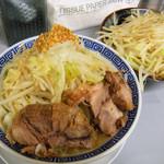 鶏とふじ - ラーメン¥650+野菜増し¥50