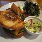 33514371 - 梅干しと新鮮野菜のサンドイッチ3