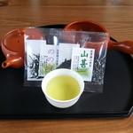 和束茶屋 山甚 - 料理写真:一煎お茶セット