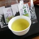 和束茶屋 山甚 - 一煎お茶セット
