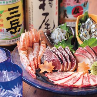 ☆九州・鹿児島鮮魚と熊本馬刺し☆
