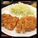 串カツえびす - チキンカツ定食780円