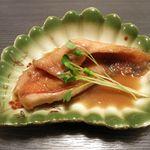 寿し処 福長 - 鰍の煮付け