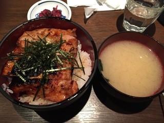 焼鳥 Ryoma - 鶏の照り焼き丼@550円
