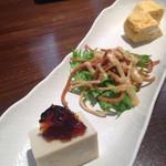 soba みのり - ランチ前菜