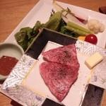 琴平花壇 - 讃岐牛石焼と彩り野菜