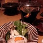 琴平花壇 - 鮑すき鍋