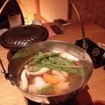 琴平花壇 - 鮑すき鍋~