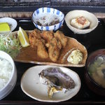 かき処 海 - カキフライ定食