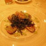 エンパイア・グリル - 鴨肉のカルパッチョ