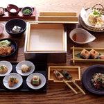 豆腐料理 空野 - 【お勧め ひととおり膳】当店の豆腐料理を御堪能下さい