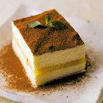 豆腐料理 空野 - 豆腐のティラミス