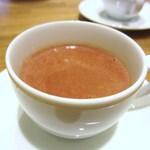 パティスリー アンド カフェ デリーモ - ホットショコラドリンク カカオA56%
