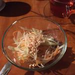 エイケイコーナー - ソムタム  青パパイヤのサラダ  タイ料理