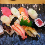 寿司 雅 - にぎり1.5倍