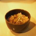 横田酒場 - 豚のごった煮