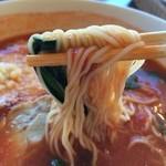 王府井 - トマトチーズラーメンの麺