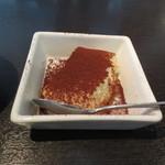 モデスティ - デザートの白ごま風味のティラミス。