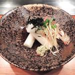 ステーキ山下 - 前菜・山芋