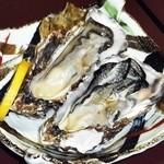 北のゐざかや - 料理写真:厚岸産生ガキ