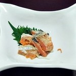 北のゐざかや - 鮭の飯寿司