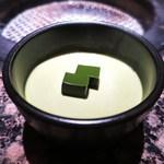 うしごろ 貫 - 抹茶プリン