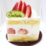アンファミーユ - 苺のショートケーキ