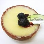 アンファミーユ - ホワイトチョコのタルトレット