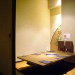 彩香園 - 4名様用掘りごたつ席       (完全個室)