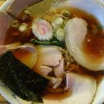 手打ち中華そば 白土家 - チャーシュー麺(バラ)